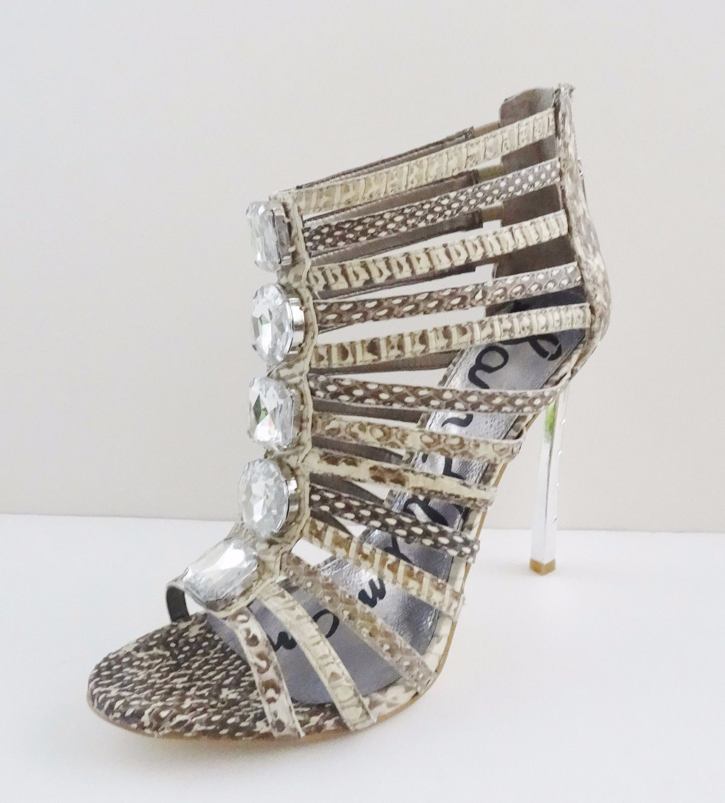 c96e1ef54e90 NIB Sam Edelman Hampton Ankle Caged Sandal and 50 similar items