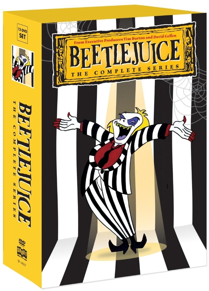 Beetlejuice   the complete series dvd  2013