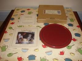 Longaberger Coaster Lid Pottery Paprika - $12.79