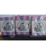 Lot of 3 Girls Just Want To Have Fun Mini Journals Diary Girls Key  Priv... - $9.49
