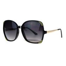 Classic Vintage Chic Sunglasses Oversized Square Frame Womens Fashion - $11.95