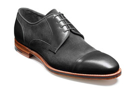 Black Tone Rounded Cap Toe Casual Oxford Premium Leather Men Lace Up Shoes - $139.99+