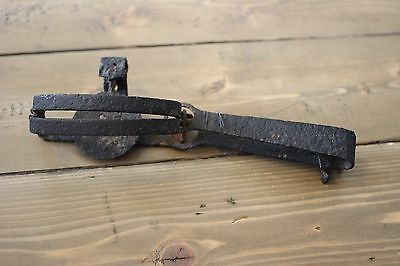 Antique Steel Victor Trap Home Decor