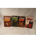 4 Doc Savage Paperbacks Sci-Fi Adventure 16 18 20 24/25 - $8.39
