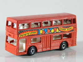Matchbox Superfast London 1972 Lesney Red Bus No.17 The Londoner Made in... - $12.86