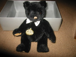 "1992 GUND Collector's Bear ""Gundy"" Baby Black Bear - $49.99"