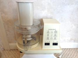 Vintage Hamilton Beach Food Processor Mod. 702 R. (1519) - $39.99