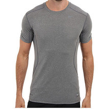 Nike 'Core Fitted 2.0' T-Shirt Carbon Heather/ Dark Steel Large - $19.78