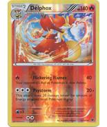 Delphox 13/124 Rare Reverse Holo Fates Collide Pokemon Card - $1.29