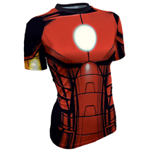 Iron man Sport Dry fit fitness gym T shirt for ... - £19.24 GBP