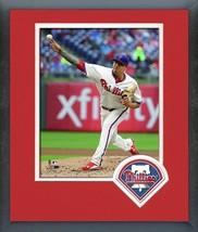 Vince Velasquez 2016 Philadelphia Phillies - 11x14 Team Logo Matted/Framed Photo - $42.95