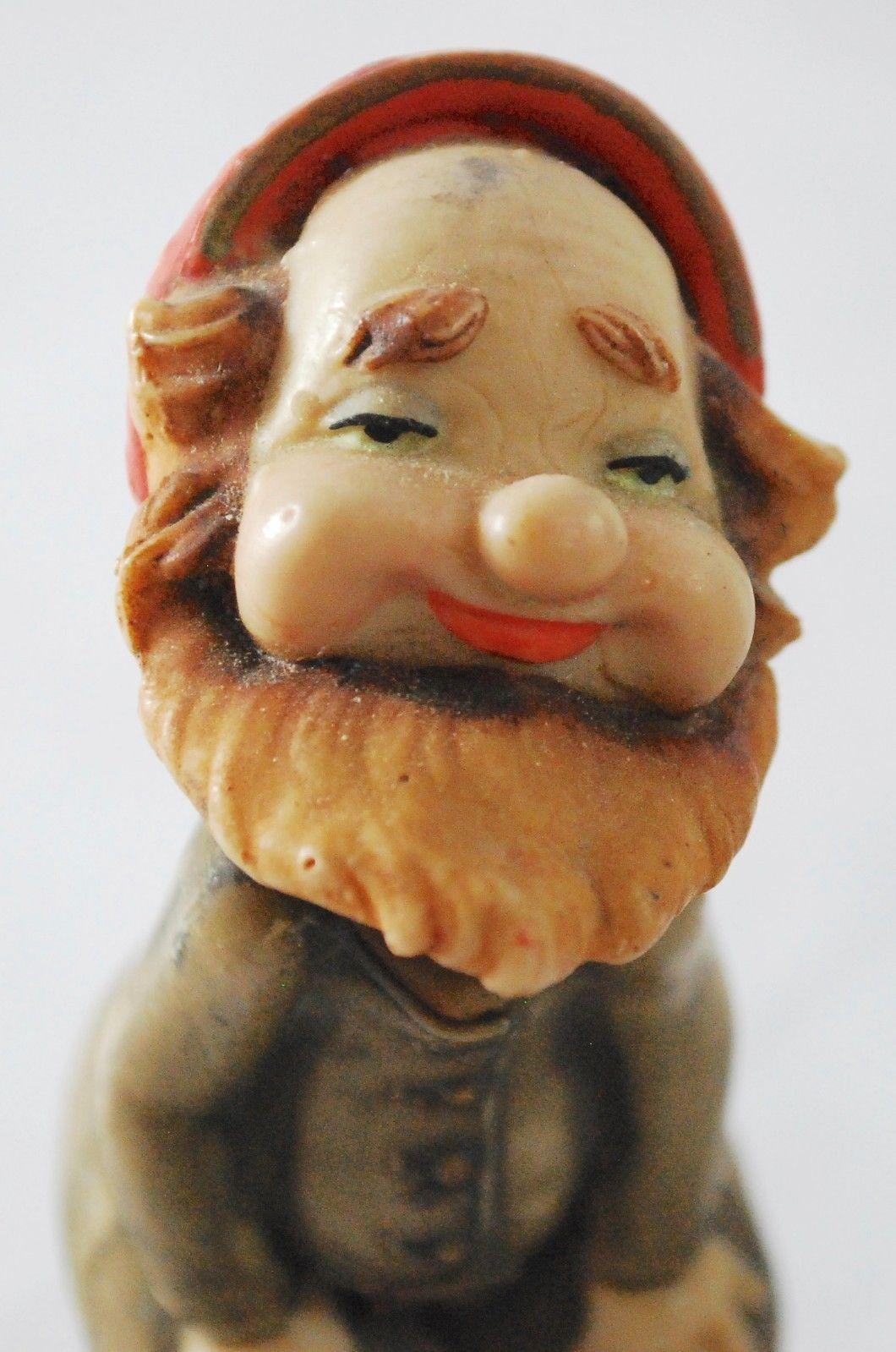 Vintage Fontanini Depose Italy Spider Mark Elf Dwarf Gnome 4