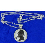 Sherlock holmes necklace cabochon thumbtall