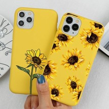 Cute Summer Sunflower Flower Phone Case For iPhone 12 XS MAX 11 Pro iphone cover - $5.80