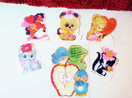 Valentine Cards Set Vintage Unused Assorted Greeting Card Children Teach... - $15.00