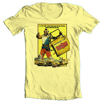 DC Cab T shirt Mr. T 1980's retro movie cool funny comedy film vintage tee shirt