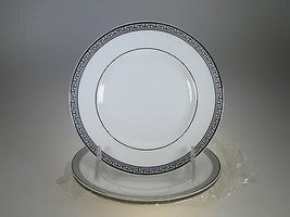 Royal Worcester Corinth Platinum Bread & Butter Plates Set of 3 Made in ... - $23.33