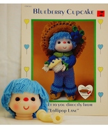 Dumplin Designs Blueberry Cupcake Crochet Patte... - $16.50