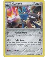 Lucario 63/124 Holo Rare Fates Collide Pokemon ... - $1.39