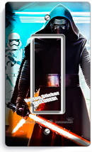 STAR WARS KYLO REN FIRST ORDER STORMTROOPERS SINGLE GFCI LIGHT SWITCH WA... - $11.99
