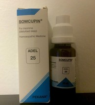 Adel Homeopathy Germany Drops 25 - For Insomnia (disturbed Sleep) - $10.39