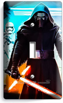 STAR WARS KYLO REN FIRST ORDER STORMTROOPERS SINGLE LIGHT SWITCH WALL PL... - $10.99