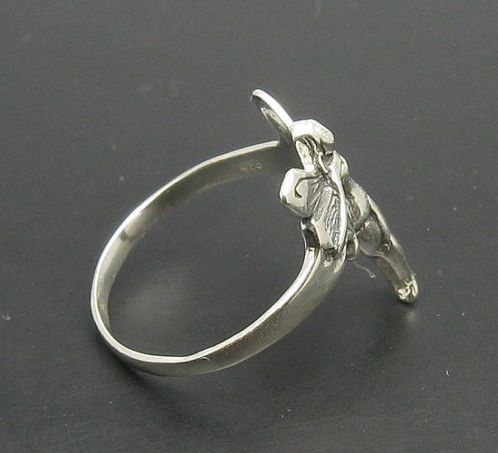 R000443 Stylish STERLING SILVER Ring Solid 925 Fairy Kid