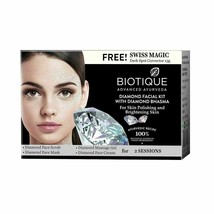 65g Biotique Diamond Facial Kit With Diamond Bhasma For Skin Polishing  - $16.19+