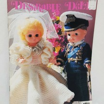Desirable Dolls Crochet Charming Collection Patterns Booklet MM681 1981 ... - $14.99