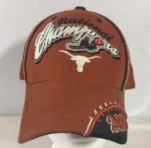 Texas Longhorns Football Hat Cap NCAA 2005 National Champions Orange Rose Bowl - $15.83