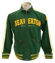 Nike Green Beaverton Oregon Zip Front Sweat Track Jacket Men's NWT  - $113.24