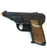 Big Game Toys~Walther PPK Semi-Auto Pistol Cap Gun~Secret Agent spy Toy - $18.71