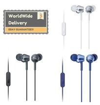 Sony MDR-EX250AP In Ear Stereo Earphones Headphones Ipod MP3 Earbuds New Genuine - $32.99