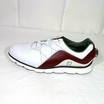 FootJoy Pro SL Golf Shoes with BOA Dial Spikeless Women Size 9 White Bur... - $49.49