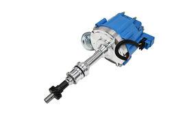 BBF Ford 351C 429 460 V8 Coil Hei Distributor 50,000 50k Volt w/ Blue Cap image 6