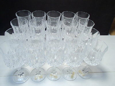 Primary image for 20 Cristal d'Arques Longchamp Wines Gls's ~ stock up