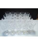 20 Cristal d'Arques Longchamp Wines Gls's ~ stock up - $49.95