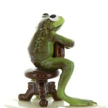 Hagen Renaker Miniature Frog Froggy Mountain Breakdown Mandolin Ceramic Figurine image 7