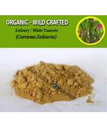 POWDER White Turmeric Zedoary Curcuma Zedoaria Organic WildCrafted Fresh... - $16.40+