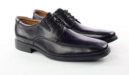 Mens Clarks Tilden Walk Oxfords - Black Leather Size 11.5 [261 10310] - $64.99