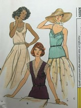 Vogue Sewing Pattern 9192 Misses Top Lace Trim Shirt Vintage 1970s Uncut Retro - $19.79