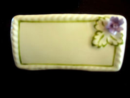 Vintage Aynsley Bone China Flower 8 Place Cards Can Write Names on Them 2 Boxes image 4