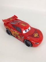 "Disney Cars Thinkway Toys Light-up Talking Racing Lightning McQueen 8"" Car - $31.14"