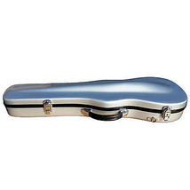 4/4 Violin Case Fiberglass Silver Very Solid GREAT DEAL! XT-03 - $89.54