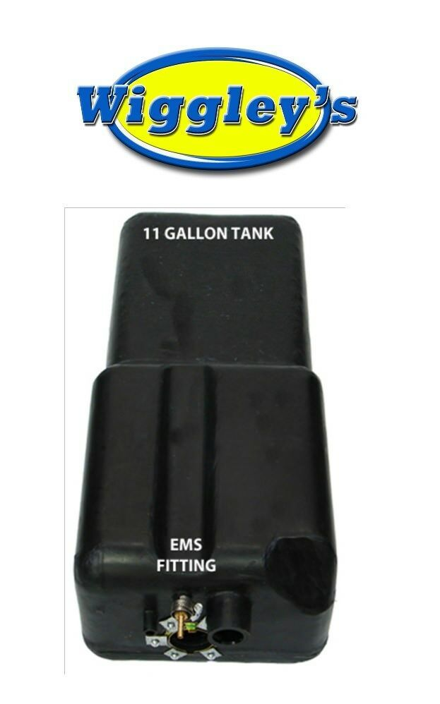 PLASTIC FUEL TANK MTS 4240 FITS 71 72 73 74 75 76 FORD BRONCO 11 GAL WITH EMS