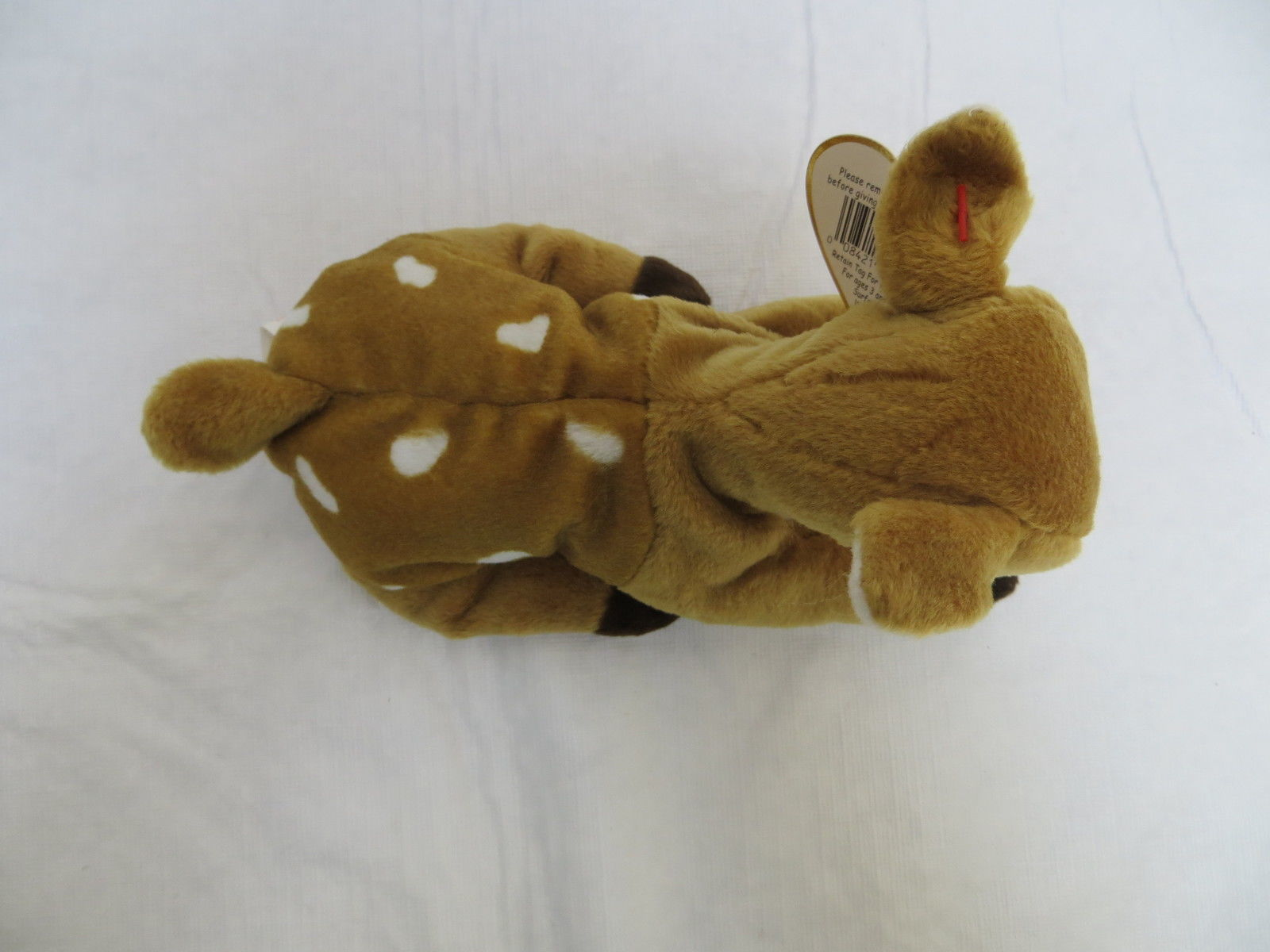 cd5760f7385 ... TY Retired Beanie Baby Whisper the Spotted Fawn Deer MWT ...
