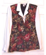 Sz 7/8 -  Marnie West attached Floral Vest Top Size 7/8 - $23.74
