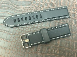 Silicone 23mm watch band replaces Luminox or other water resistant brands - $15.84