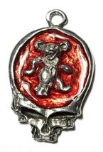Dancing Bear Skull Fine Pewter Pendant Approx. 1 5/8 inches tall image 5