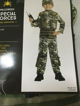 Boy's Dress-up Halloween Costume - Navy Seal - Army Special Forces - 3T - 4T - $24.24